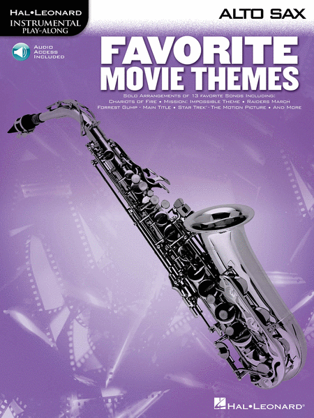 Favorite Movie Themes - Alto Sax