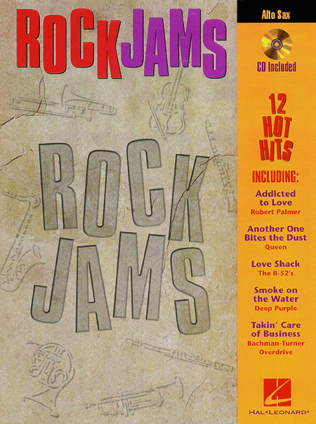 Rock Jams - Alto Saxophone