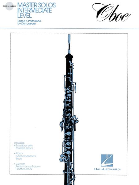 Master Solos Intermediate Level - Oboe