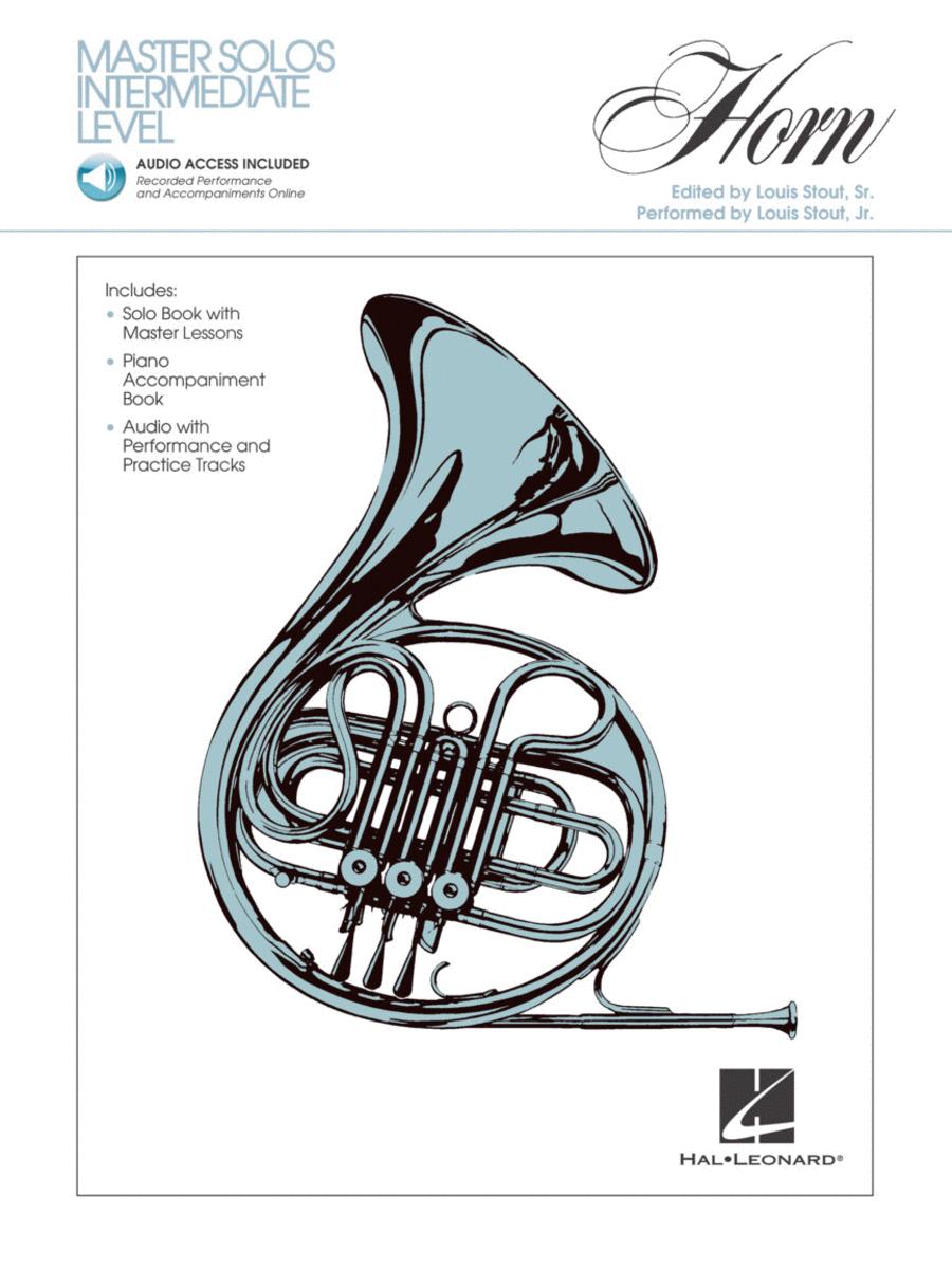 Master Solos Intermediate Level - Horn