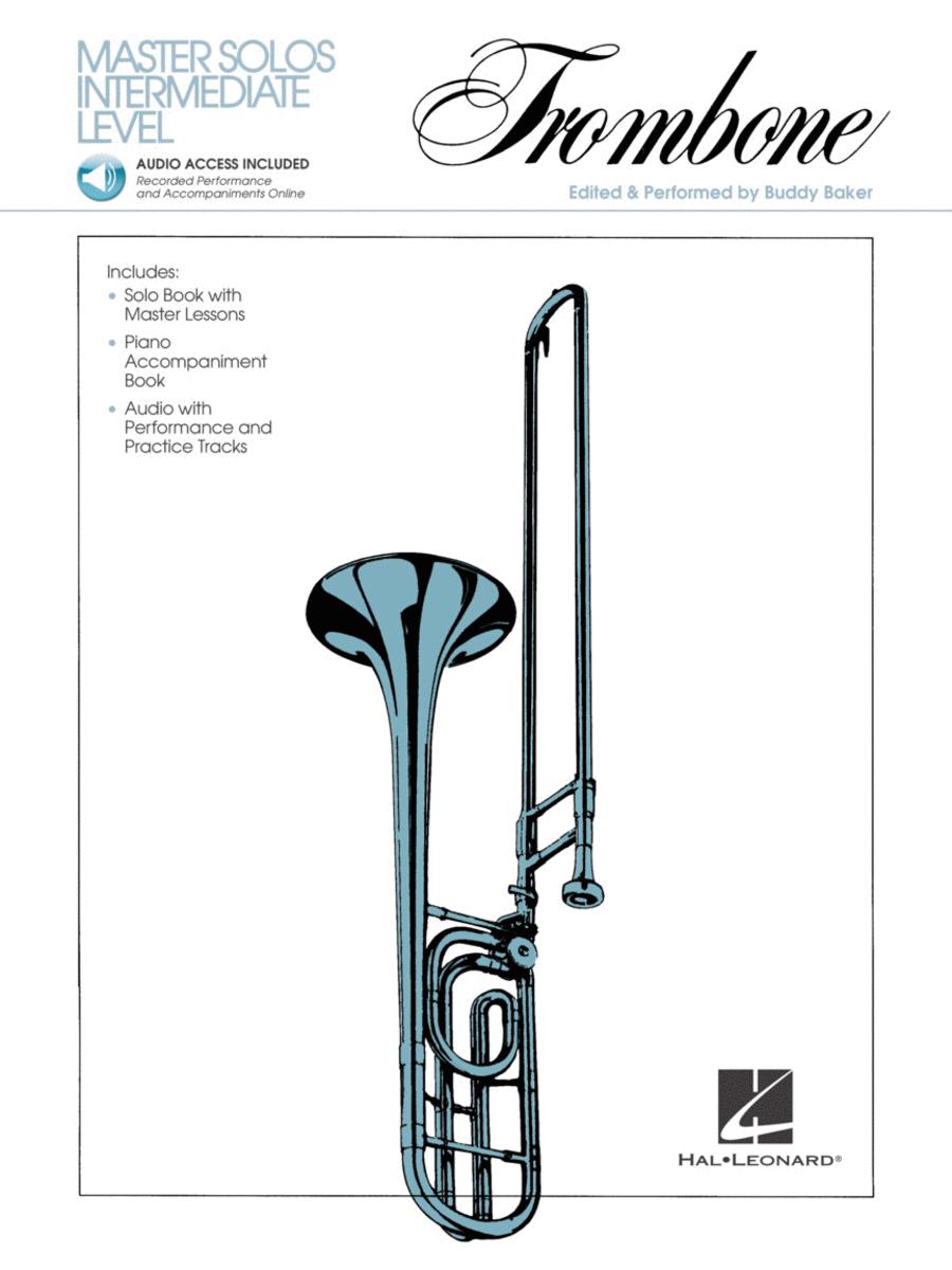 Master Solos Intermediate Level - Trombone