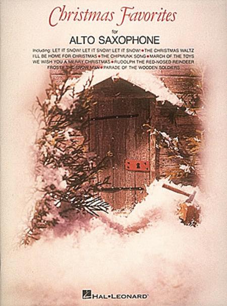 Christmas Favorites (alto saxophone)