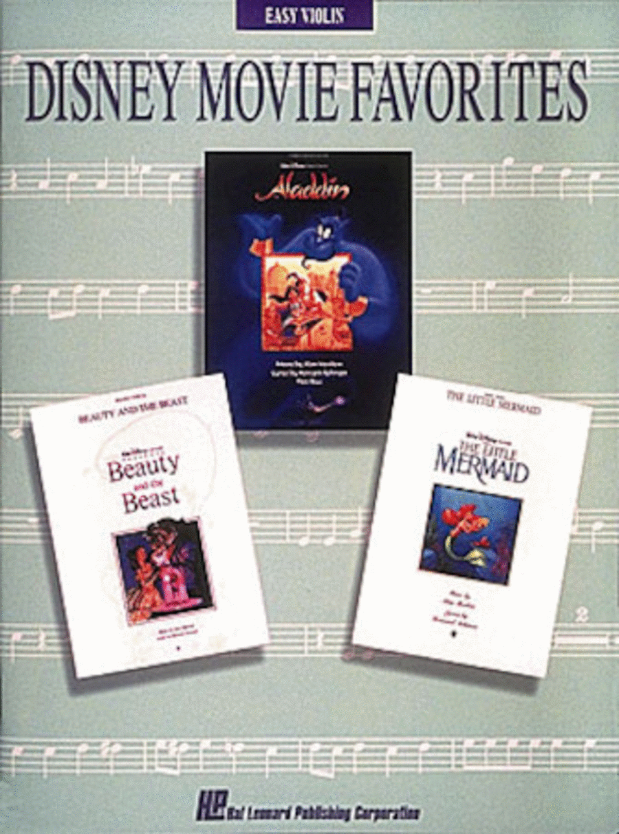 Disney Movie Favorites - Easy Violin