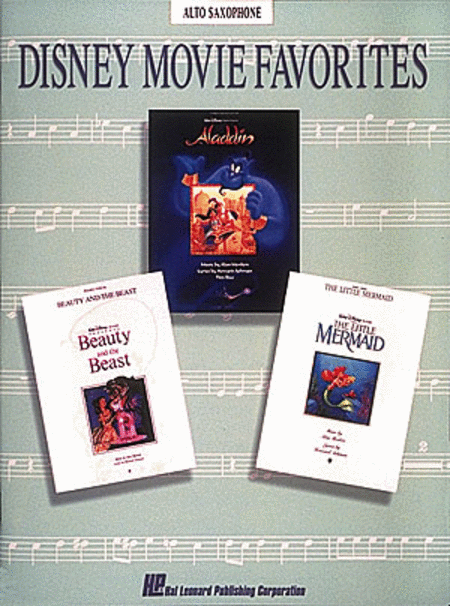 Disney Movie Favorites - Alto Saxophone