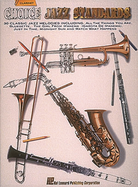 Choice Jazz Standards - Clarinet