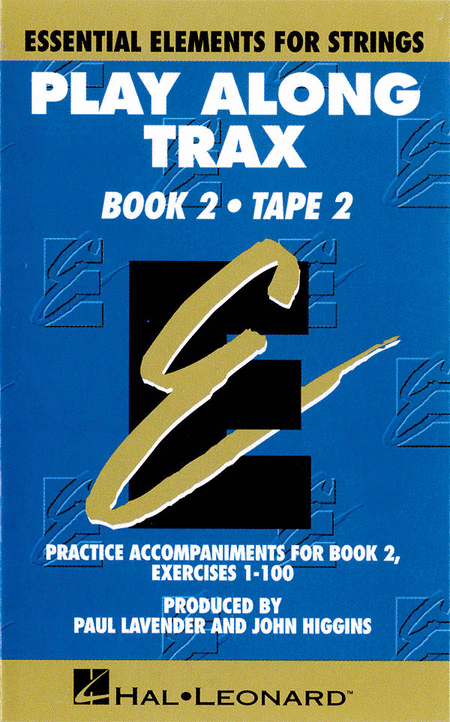 String Trax Book 2 Cst2 Play Along Trax Cassette