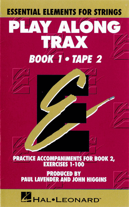 Essential Elements for Strings - Book 1, Cassette 2 (Cassette only) - Play-Along Trax