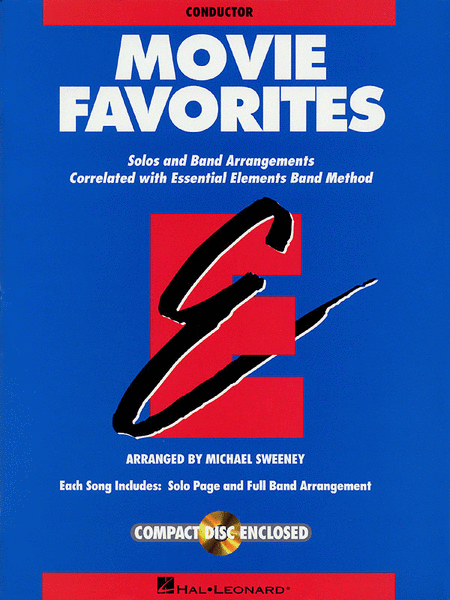 Movie Favorites - Conductor Score/CD