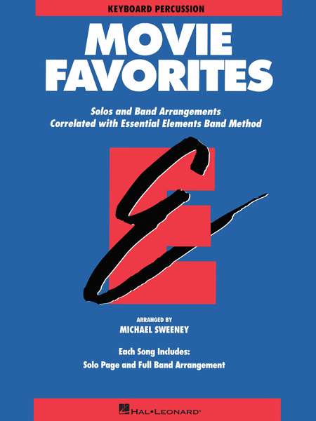 Essential Elements Movie Favorites (Keyboard Percussion)