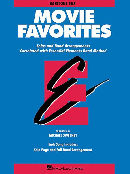 Movie Favorites - Eb Baritone Saxophone