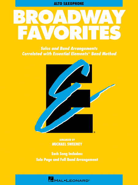 Broadway Favorites - Eb Alto Saxophone