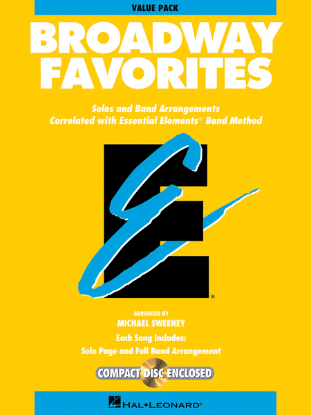 Essential Elements Broadway Favorites (Value Pak)