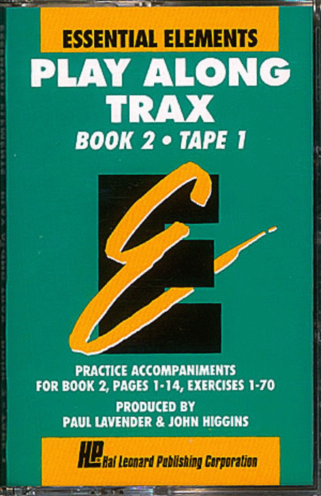 Essential Elements Play Along Trax - Book 2, Cassette 1 (Cassette only - In Norelco Box)