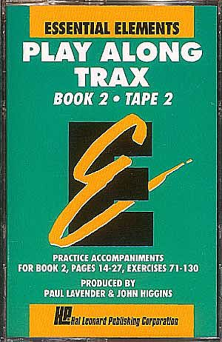 Essential Elements Play Along Trax - Book 2 (Cassette only)