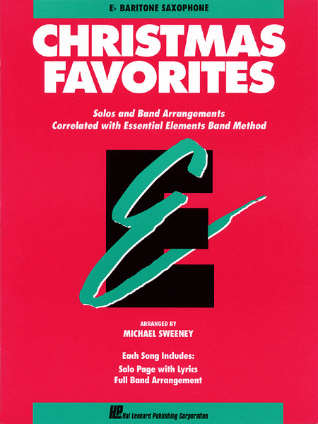 Christmas Favorites - Eb Baritone Saxophone