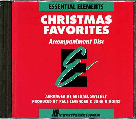 Christmas Favorites - Accompaniment CD Only