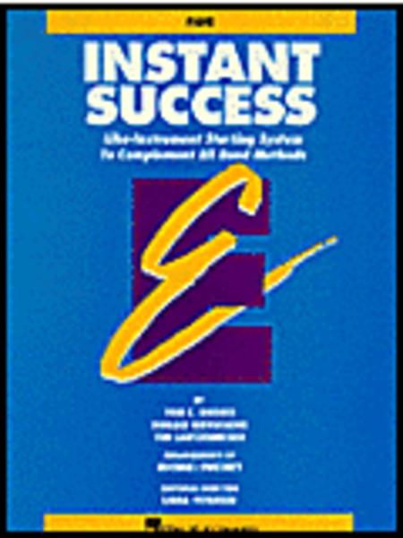 Instant Success - Eb Alto Clarinet