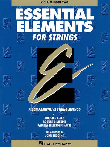 Essential Elements For Strings Book 2 (Viola)