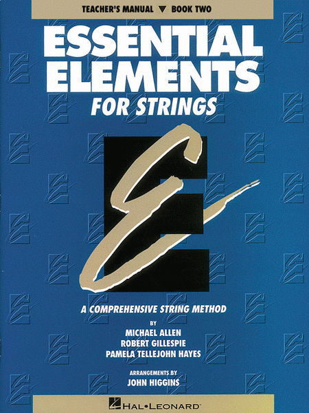 Essential Elements for Strings - Book 2 (Teacher's Manual)