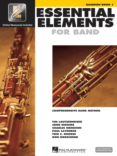 Essential Elements for Band - Bassoon Book 1 with EEi