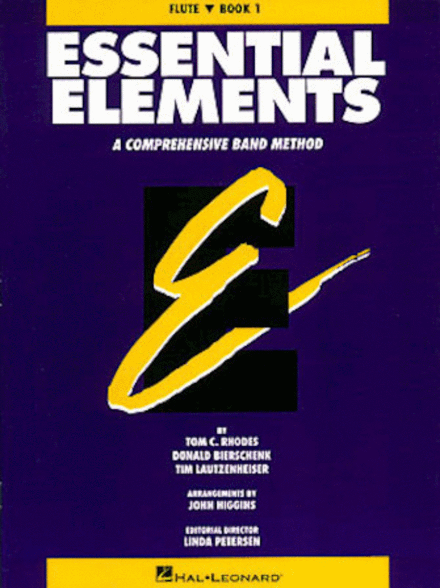 Essential Elements - Book 1 (Flute) - Book only
