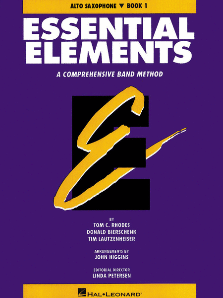 Essential Elements - Book 1 (Eb Alto Saxophone) - Book only