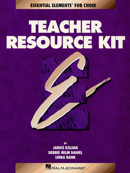 Essential Elements for Choir (Teacher Resource Kit) - Book with CD