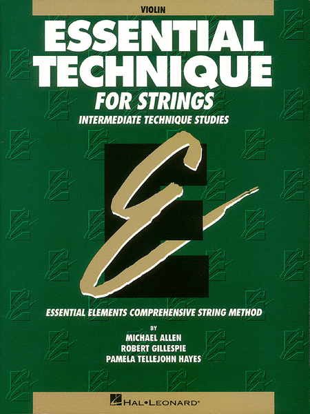 Essential Technique for Strings (Original Series)