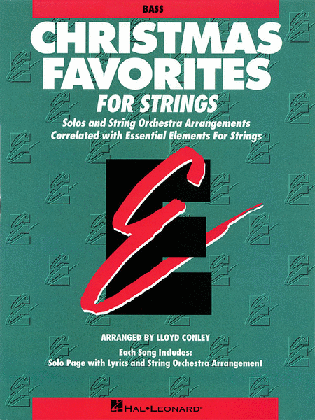 Christmas Favorites - String Bass