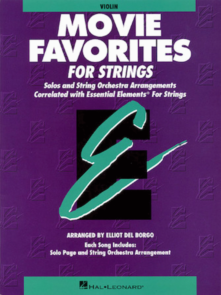 Essential Elements Movie Favorites for Strings (Value Pak)