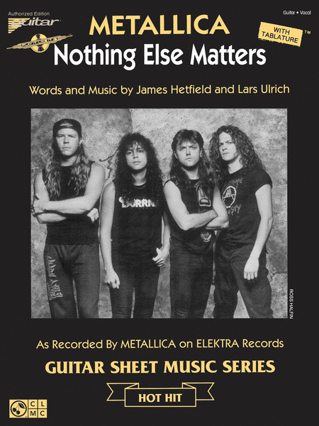 Nothing Else Matters Sheet Music By Metallica Sheet