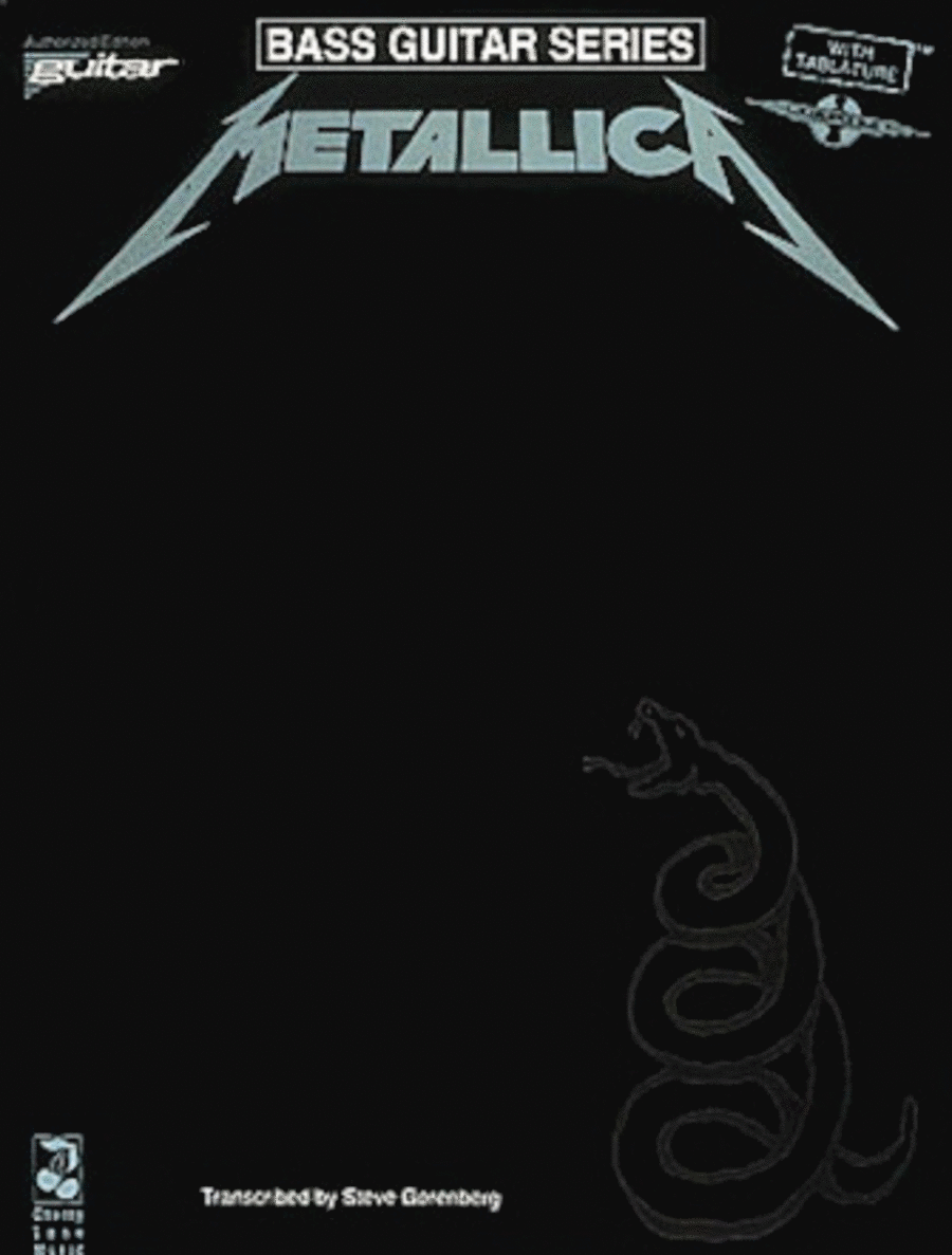 Metallica (Black) - Bass