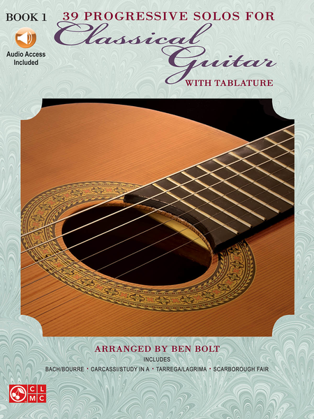 39 Progressive Solos For Classical Guitar - Book 1