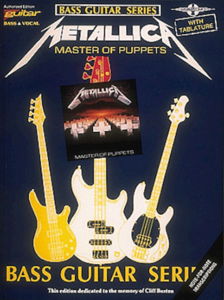 Master Of Puppets - Bass