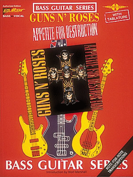 Guns N' Roses - Appetite For Destruction - Bass