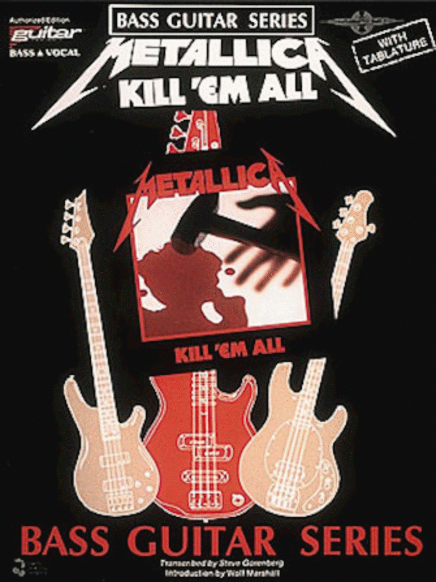 Kill 'Em All - Bass