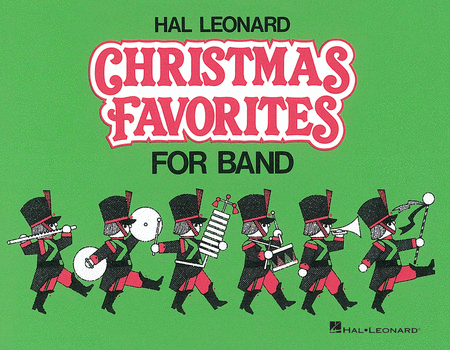 Hal Leonard Christmas Favorites for Marching Band (Level II) - Flute