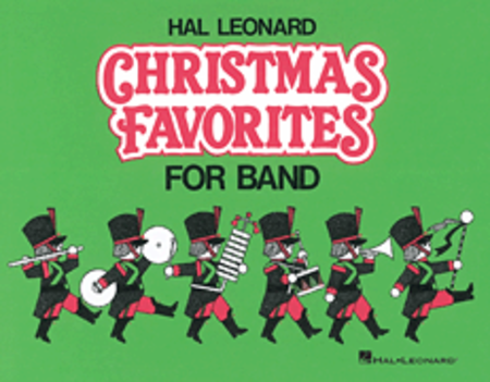 Hal Leonard Christmas Favorites for Marching Band (Level II) - Eb Baritone Saxophone