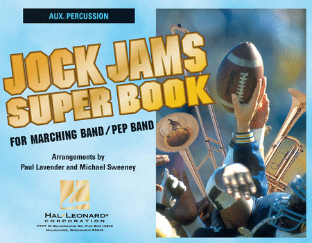 Jock Jams Super Book - Aux. Percussion
