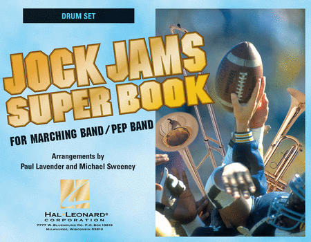 Jock Jams Super Book - Drum Set