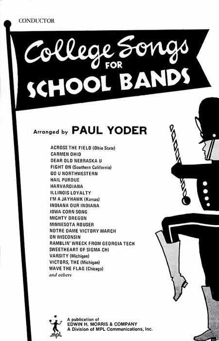 College Songs for School Bands - Conductor's Score