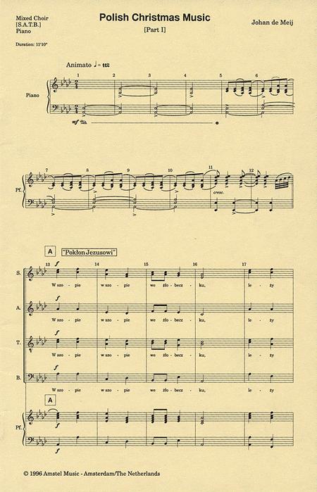 Polish Christmas Music, Part I