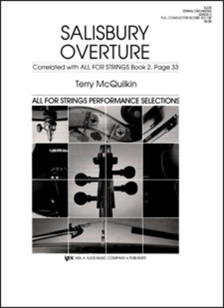 Salisbury Overture - Score