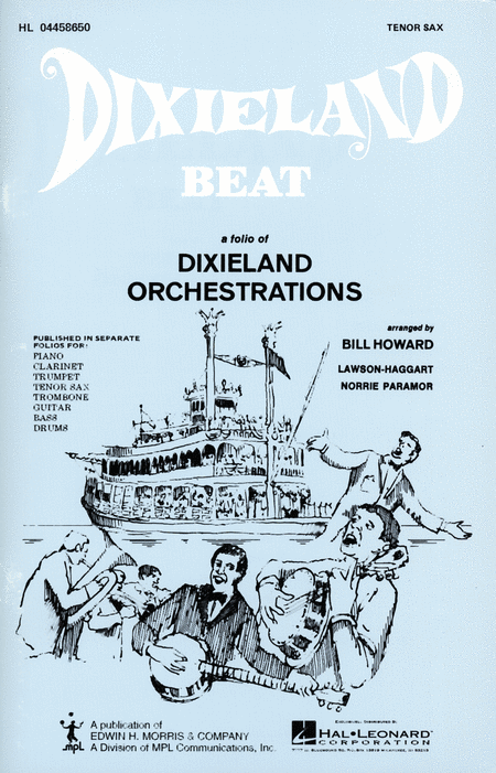 Dixieland Beat No. 1 - Tenor Sax