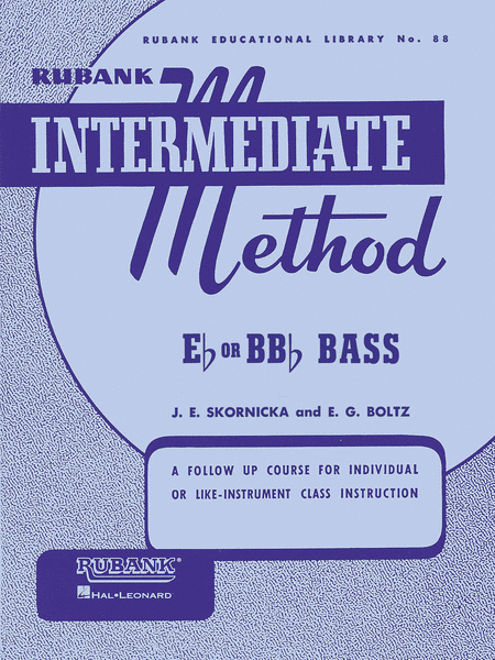 Rubank Intermediate Method - E Flat Or BB Flat Bass (Tuba-Sousaphone)