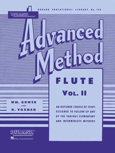 Rubank Advanced Method - Volume 2 (Flute)