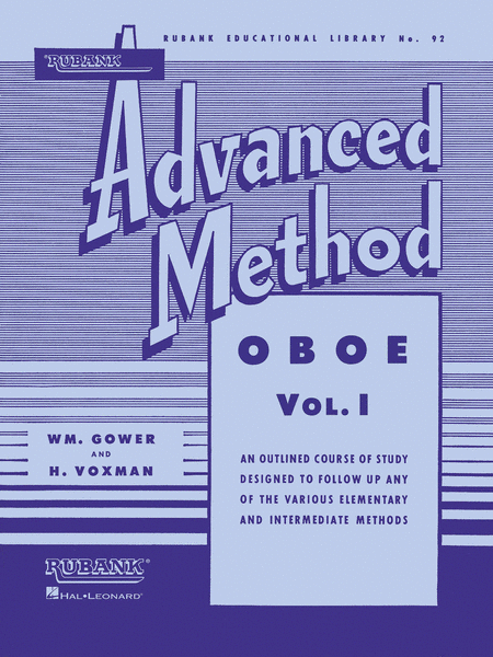 Rubank Advanced Method - Oboe Vol.1
