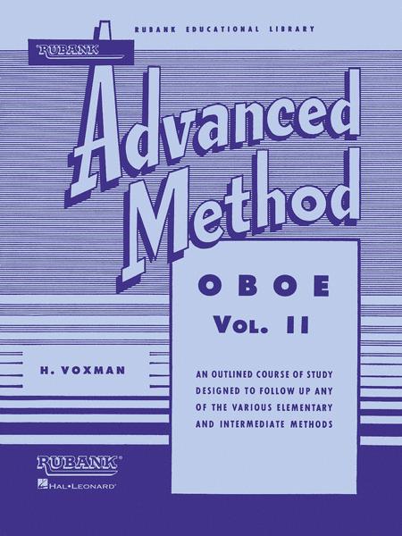 Rubank Advanced Method - Oboe Vol. 2