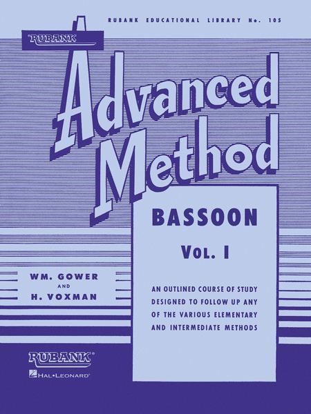 Rubank Advanced Method - Bassoon Vol. 1