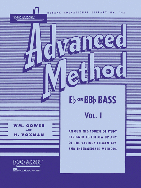 Rubank Advanced Method - E Flat Or BB Flat Bass Vol.1